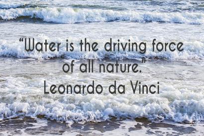 water quote 3 Leonardo
